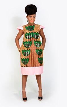 Anaya Dress - Kaela Kay ~African fashion, Ankara, kitenge, African women dresses, African prints, African men's fashion, Nigerian style, Ghanaian fashion ~DKK