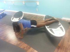Pushups are no joke! Reverse incline pushups are ridiculous!