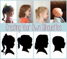 Mother's Day Silhouette Project, natuurlijk gewoon met Photoshop!