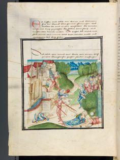 Bern, Burgerbibliothek / Mss.h.h.l.3 Diebold Schilling, Amtliche Berner Chronik f. 38