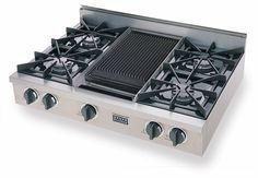 Kitchenaid 174 48 Inch 6 Burner With Grill Gas Rangetop