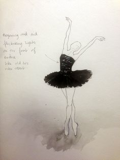 Tutu sketch by Leila Ligougne