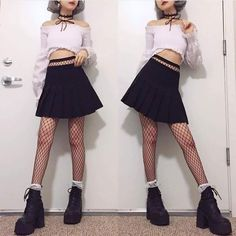 ZAFUL offers a wide selection of trendy fashion style women's clothing. Affordable prices on new tops, dresses, outerwear and more. Ulzzang Fashion, Harajuku Fashion, Kawaii Fashion, Asian Fashion, Diy Fashion, Trendy Fashion, Fashion Outfits, Fashion Design, Classy Fashion