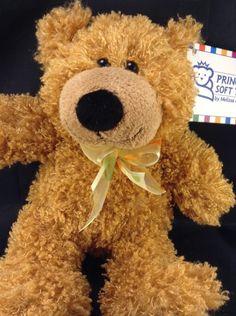 Melissa & Doug Baby Frizz Bear Plush Stuffed Teddy Animal Brown Tan Cuddly NWT    eBay