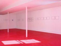 "Koo Jeong A, installation view of Dr. Vogt 2010. ""Koo Jeong A:   Constellation Congress,"" The Dan Flavin Art Institute, Bridgehampton, NY.   November 5, 2010–September 4, 2011. Photo: Cathy Carver, New York."