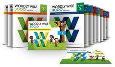 The words chosen for Wordly Wise 3000® were selected to expand critical grade level vocabulary and improve reading comprehension.  Words from each lesson are commonly encountered in: grade-level literature; content-area reading; textbooks; and, high-stakes tests – including the PSAT, SAT, and ACT  Aligned to #CommonCoreStateStandards #CCSS