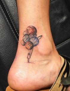 Planet Tattoo by Eva Krbdk