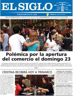 Diario El Siglo - Lunes 17 de Diciembre de 20 12