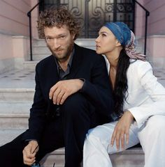 Vincent Cassel & Monica Bellushi