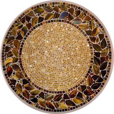 KNF Honey Ivy Mosaic Table  Visit hiltonheadpatiofurniture.com