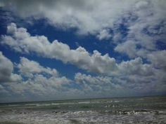 Oceano Atlântico no Recife.