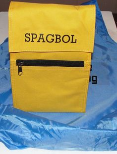 spagbol lunch bag Uglies book series <3