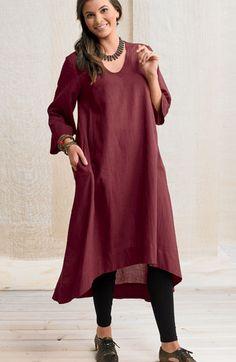 Dresses - Zarine Dress - Claret