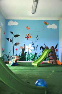 indoor playground for bad weather days, too cute if you have the extra room!