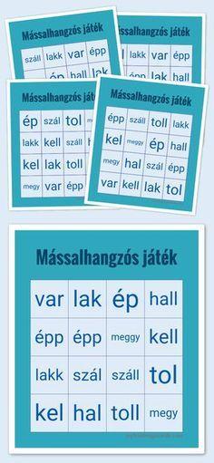 Free Printable and Virtual Bingo Cards Bingo Card Generator, Free Bingo Cards, Beginning Of School, Special Education, Diy For Kids, Grammar, Free Printables, Summer Programs, Teacher