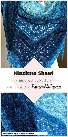 Cozy Klaziena Shawl - [Free Crochet Pattern] #freecrochetpatterns #crochetshawl #summeroutfit #style #crochet