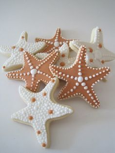 starfish cookies #dessert #inspiration