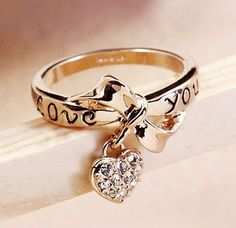 I don't really like big rings I don't mind them but I would like a small one. I like this one a lot.