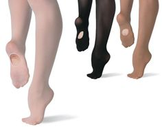 Ref  P72 Ultra soft convertible seamless microfibre tights. Ballet Tights 44de37f4bbd
