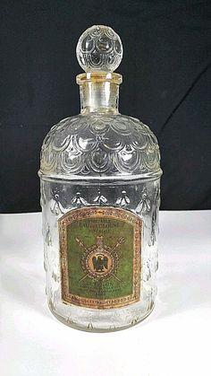 """Collectible Antique Vintage GUERLAIN IMPERIALE BEE Large PERFUME BOTTLE 9 1/4""""  #Guerlain"""