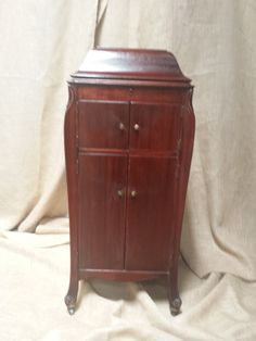 Antique Vintage Furniture - Up-Cycled Repurposed Victrola Cabinet ...