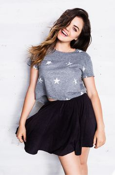 Hollister + Lucy Hale Crop Top