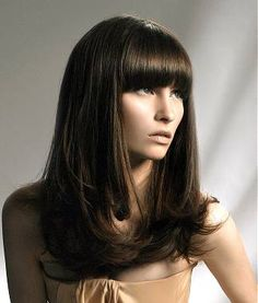 Shop our online store for Brown hair wigs for women.Brown Wig Lace Frontal Hair Brown Hair Colors From Our Wigs Shops,Buy The Wig Now With Big Discount. Straight Wavy Hair, Long Hair With Bangs, Straight Hairstyles, Blonde Wig, Blonde Ombre, Wig Styles, Long Hair Styles, Real Hair Wigs, Frontal Hairstyles
