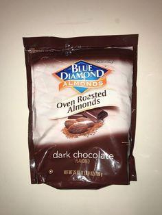 Blue Diamond Oven Roasted Cocoa Almonds, Dark Chocolate Flavor, 25 Ounce  #BlueDiamond