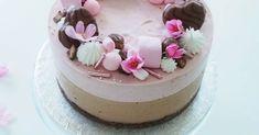 Geishasuklaa-vadelmajuustokakku - kesän maistuvin kakku - Kohokohta.com Cute Cakes, Food Pictures, Valentines Day, Cheesecake, Food Porn, Food And Drink, Birthday Cake, Candy, Sweet