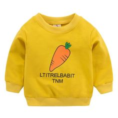 Baby Girl Boy Unisex Clothes Long Sleeve Cartoon Printed
