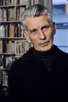 Samuel Beckett, 1906-1989, (Ire.) novelist, playwright. Waiting for Godot, Endgames (plays) Murphy Watt Molloy, (novels).