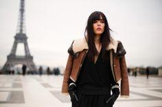 Moda en la calle en la Semana de la Alta Costura enero 2014 © Josefina Andrés