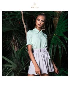Our golfing customers love this polo top because of its elegant subtleness. No visible logo, no fancy stripes, no funny little extras. Just classy. Made from wonderfully soft material, and in a figure-flattering feminine cut. With a zipper, to open it swiftly when you're hot, and sleeves that you can roll up if you prefer.   The Portofino green color gives you a fresh touch. For those who prefer darker colors, we also made it in our color Forest :)