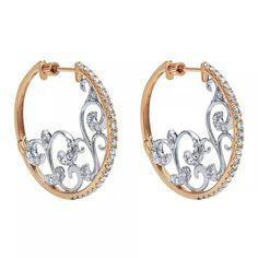 Nice hoop earrings.