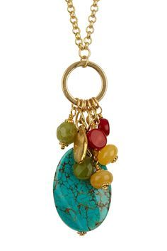Endless Tropical Charm Necklace on HauteLook love the colors. Jewelry Clasps, Charm Jewelry, Pendant Jewelry, Jewelry Art, Beaded Jewelry, Beaded Necklace, Jewellery, Charm Necklaces, Making Jewelry For Beginners