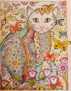 Creative Cats | Marjorie Sarnat | Colored by Betty Hung