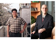 Markus lost 35lbs on raw food. His story here: http://www.eatrawvegan.com/695/before-and-after-photo-vegan-diet/