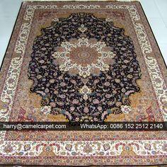 No.10282 | 183x274cm | Double Knots Handmade #SilkCarpet --- harry@camelcarpet.com