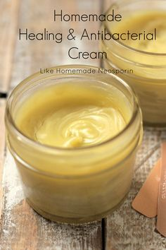 Homemade Healing & Antibacterial Cream: Like Homemade Neosporin®