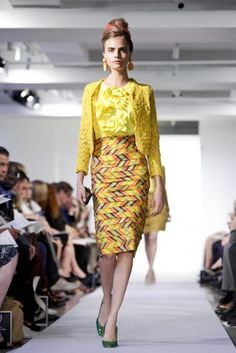 Oscar de la Renta @ New York Womenswear S/S 2013