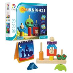 Smart Toys And Games Day & Night: Preschool Puzzle Game