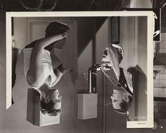 John Stezaker: Double Shadow II, 2014 Collage, 23.4 x 29.2 cm