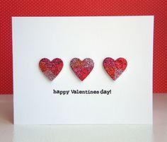 KandRdesigns: Geometric Glitter hearts