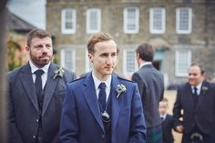 Some of our favourite photos from Emma and Ross's laughter-filled wedding day at the stunning Kingston Estate in Devon by team of two documentary wedding photographers Nova Outdoor Ceremony, Wedding Ceremony, Wedding Day, Emma Ross, Kingston, Devon, Documentaries, Nova, Groom