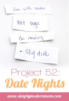 SUCH and awesome idea!! www.TheDatingDivas.com