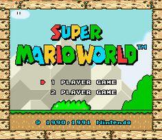 Super Mario World ROM Download for Super Nintendo / SNES - CoolROM.com