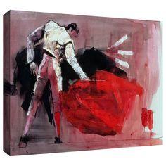 ArtWall Mark Adlington 'Matador' Gallery-Wrapped