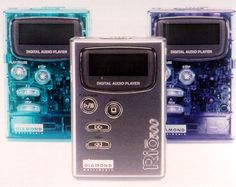 My 1st MP3 Player Rio500 64MB(1999)