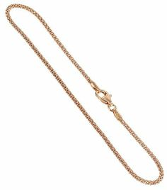 14K Rose Gold over Sterling Silver 1.6mm Popcorn Chain Bracelet 8 inch with Lobster Claw Clasp Gem Avenue. Save 65 Off!. $8.99