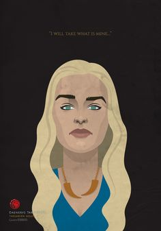 Game of Thrones Portraits by Samurai Gustav Game Of Thrones Illustrations, Game Of Thrones Artwork, Game Of Thrones Poster, Game Of Thrones Fans, Game Of Thrones Characters, Got Dragons, Mother Of Dragons, Valar Dohaeris, Valar Morghulis